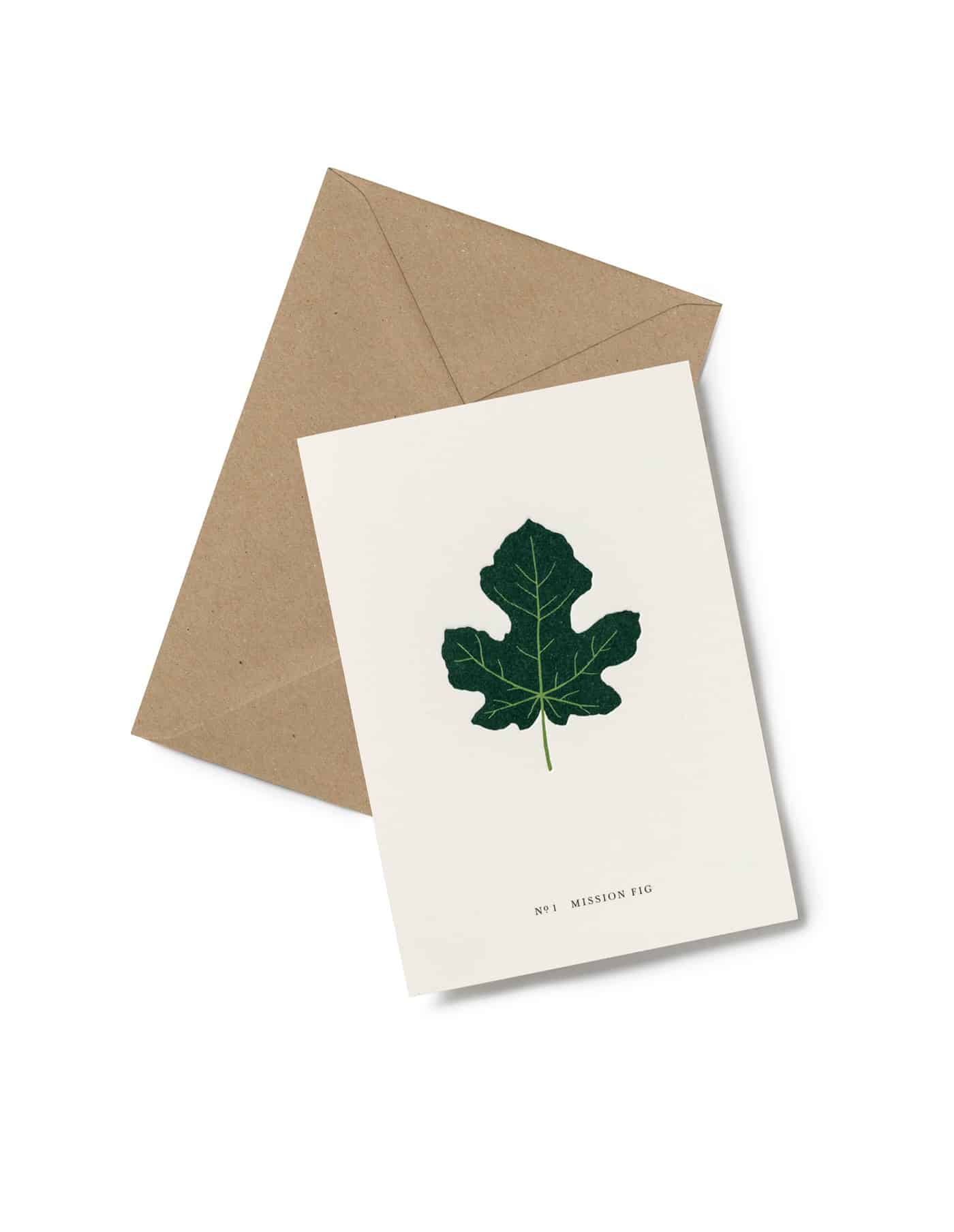 Kartotek Fig Leaf Greeting Card