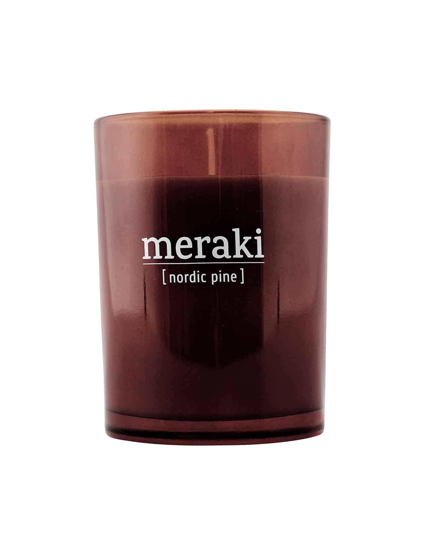 Meraki Scented Candle, Nordic Pine