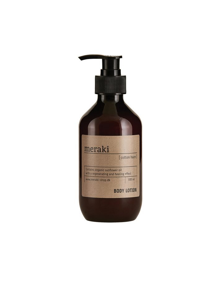 Meraki Body Lotion, Cotton Haze