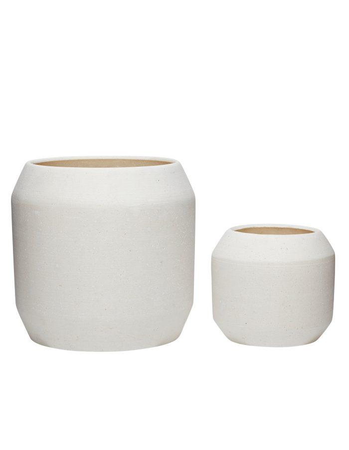 Hubsch Ceramic Plant Pots