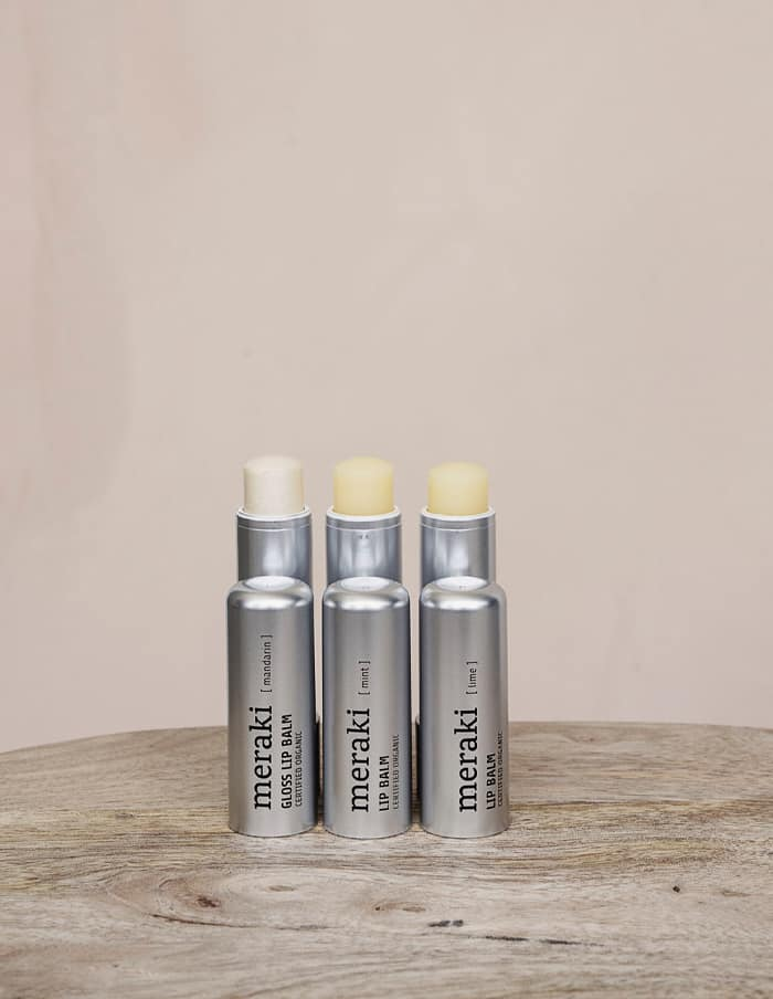 Meraki Lip Balm, Mandarin, Certified Organic
