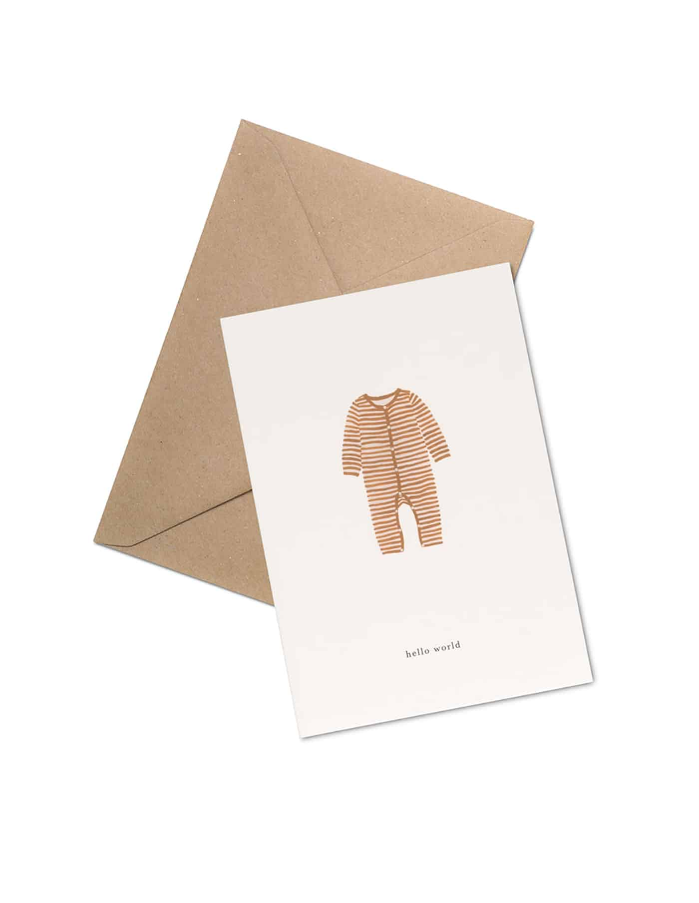 Kartotek 'welcome to the world' Greeting Card