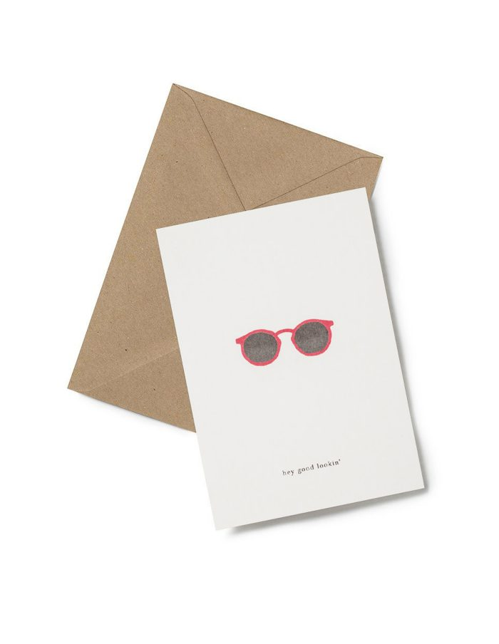 Kartotek 'hey good lookin' Greeting Card