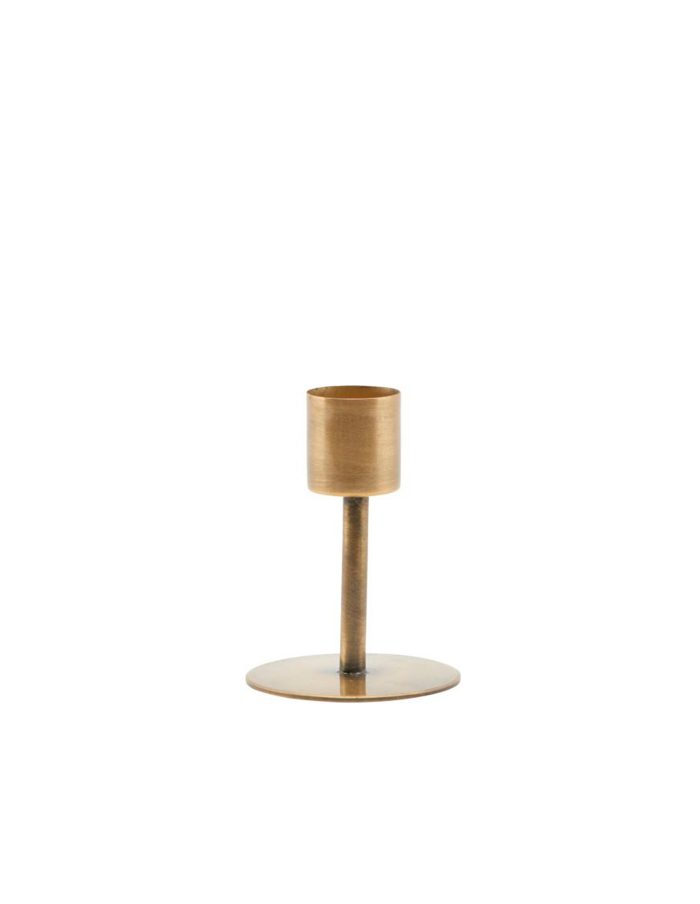 House Doctor Candle Stand, Brass