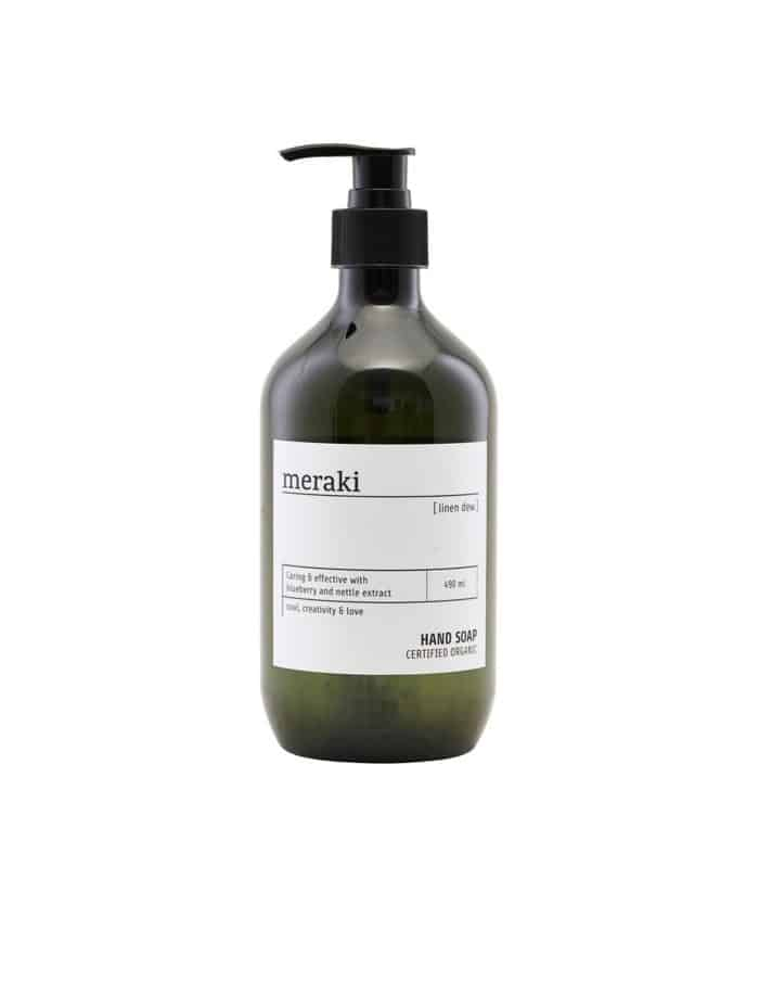 Linen Dew Meraki Hand Soap, Certified Organic
