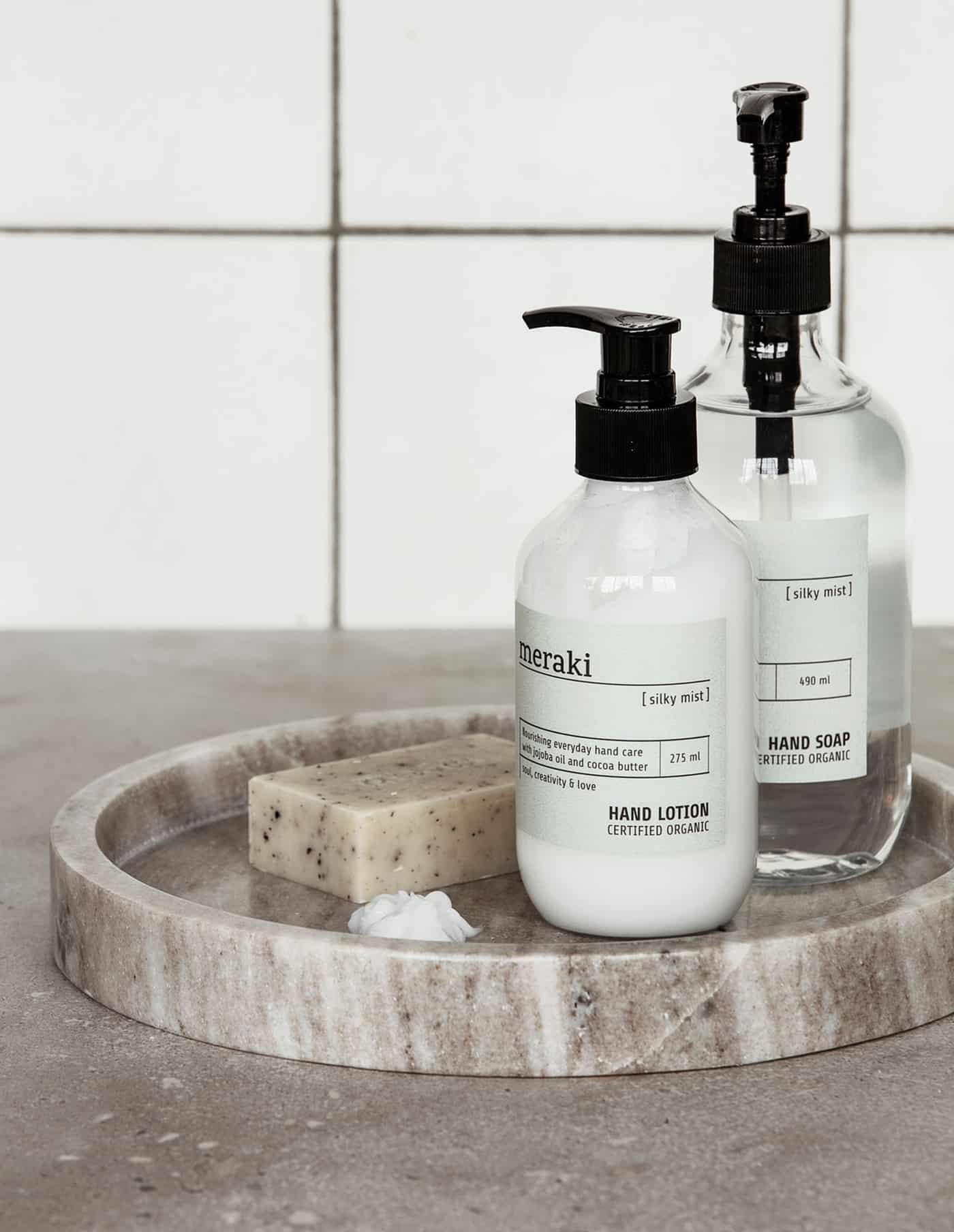 Silky Mist Meraki Hand Soap, Certified Organic