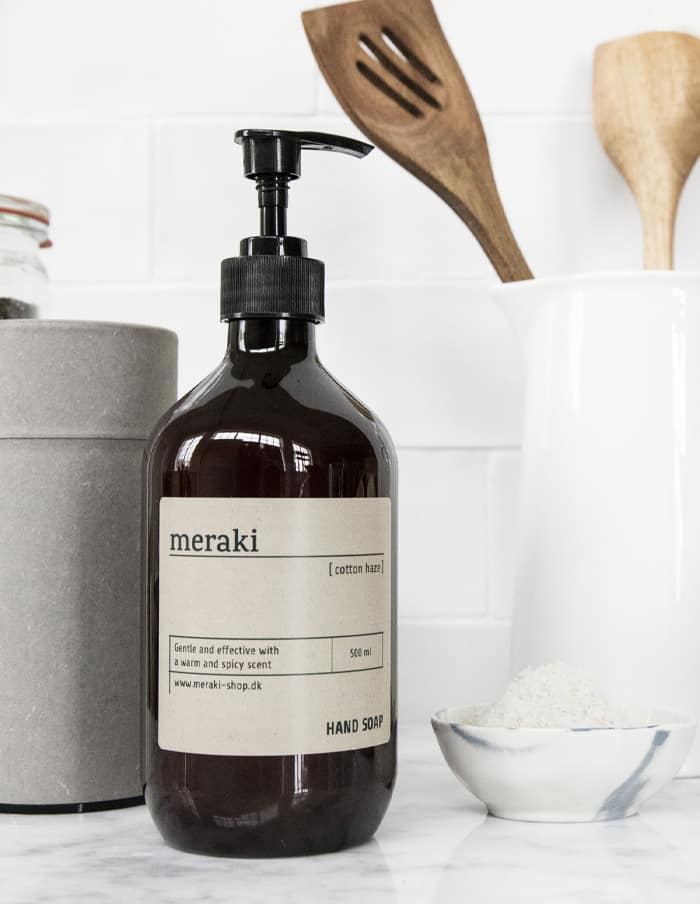 Meraki Hand Soap, Cotton Haze
