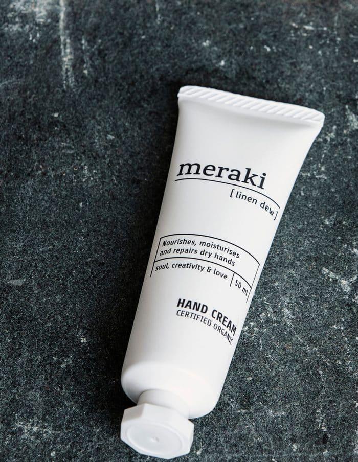 Linen Dew Meraki Hand Cream, Certified Organic