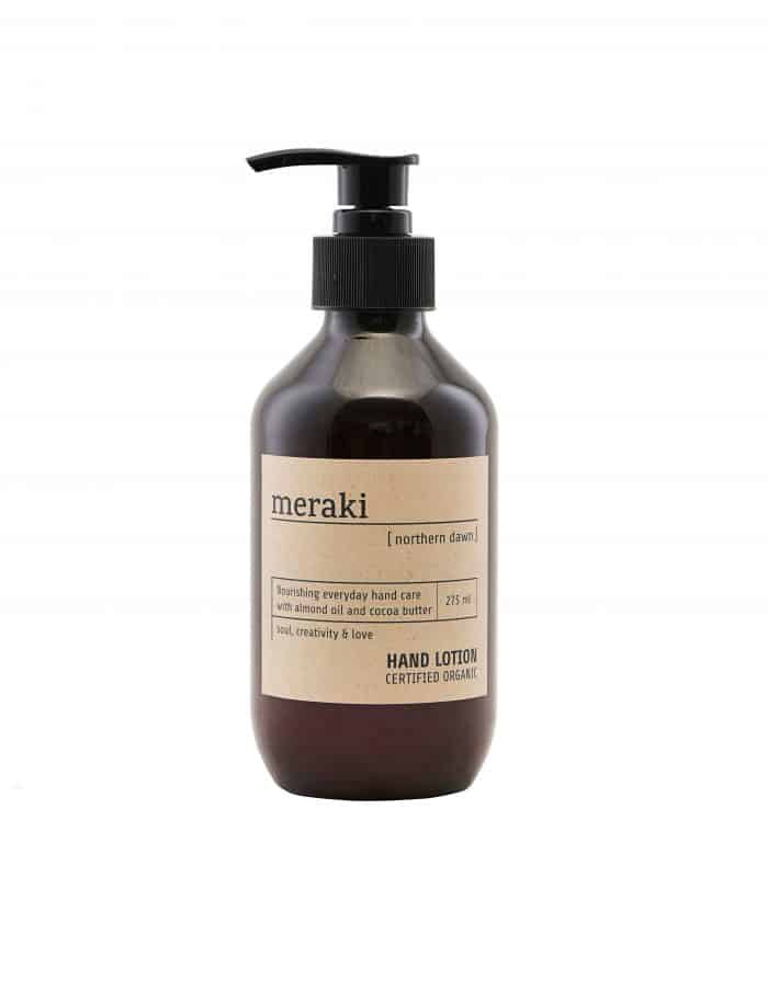 Meraki Hand Lotion, Northern Dawn, Certified Organic