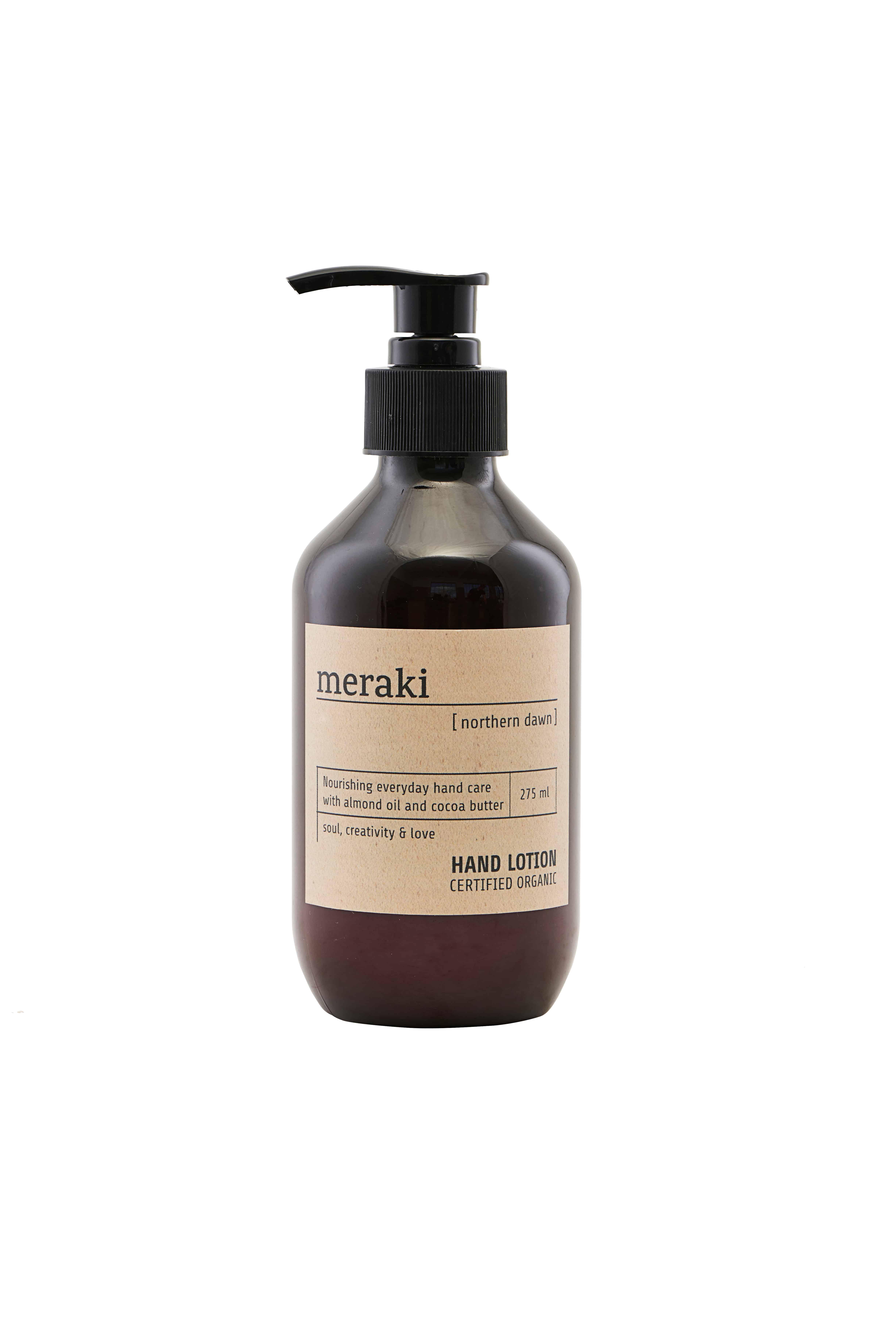 Meraki Hand Lotion, Northern Dawn, Certified Organic