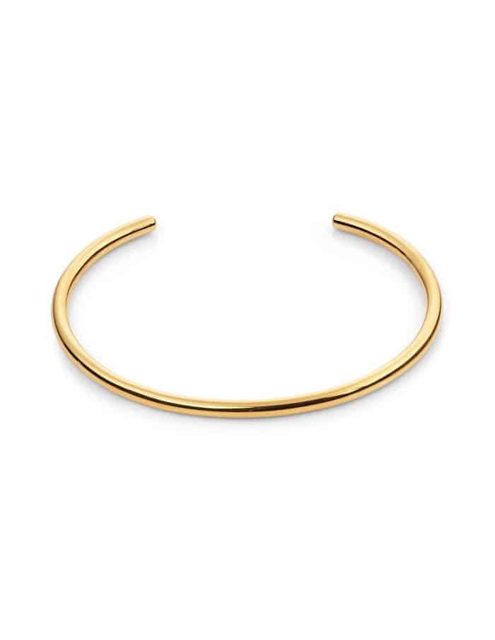 Gold Cuff Bangle