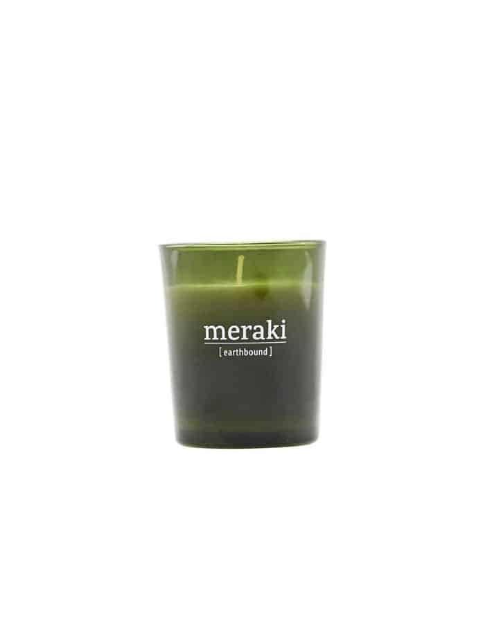 Meraki Earthbound Scented Candle, Small