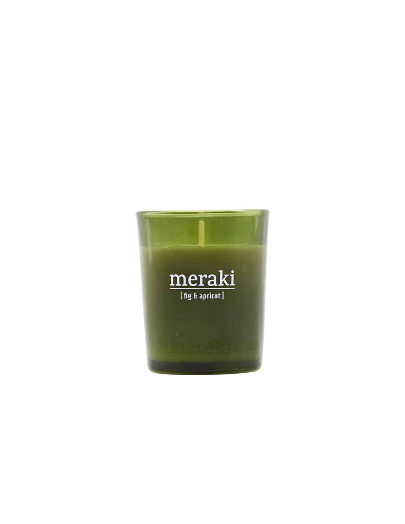 Meraki Fig & Apricot Scented Candle, Small