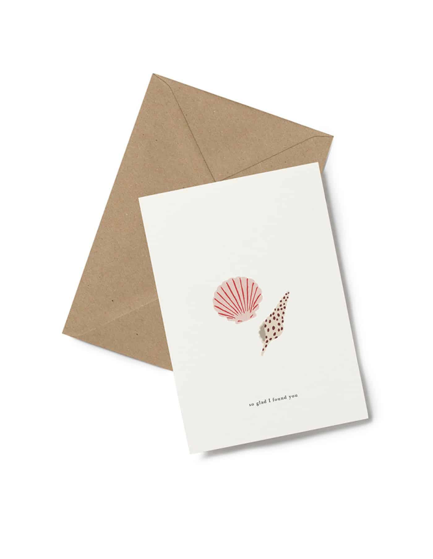Kartotek 'so glad' Greeting Card