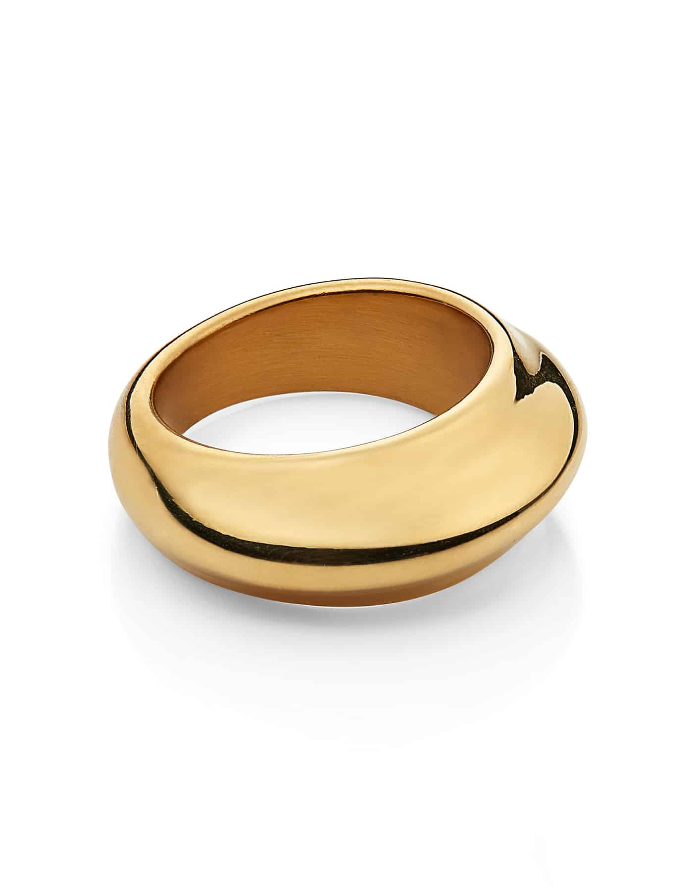 Gold Dome Ring, Forever Lasting