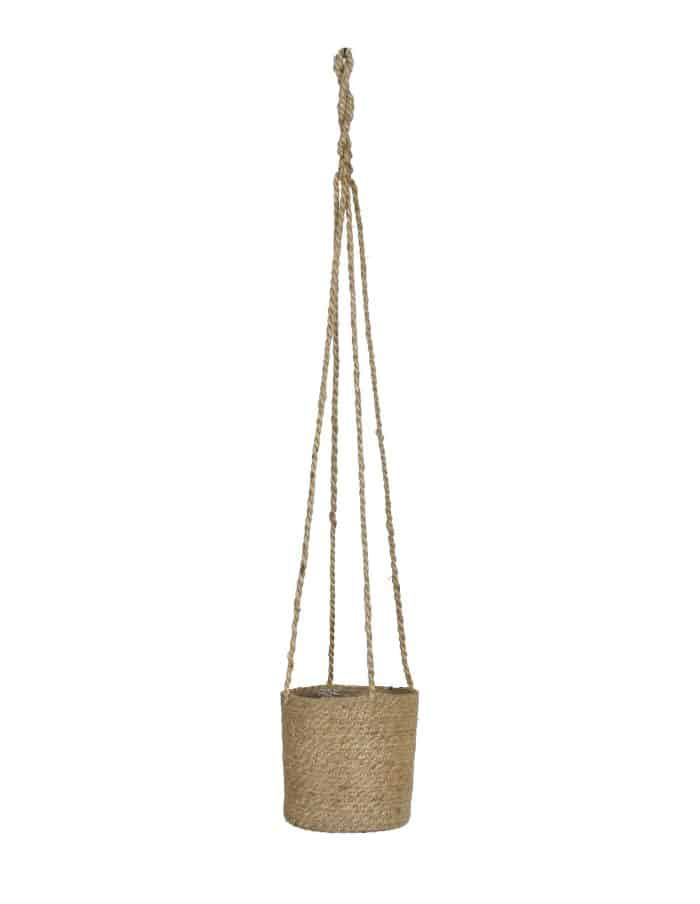 Jute Hanging Plant Pot, Two Shapes