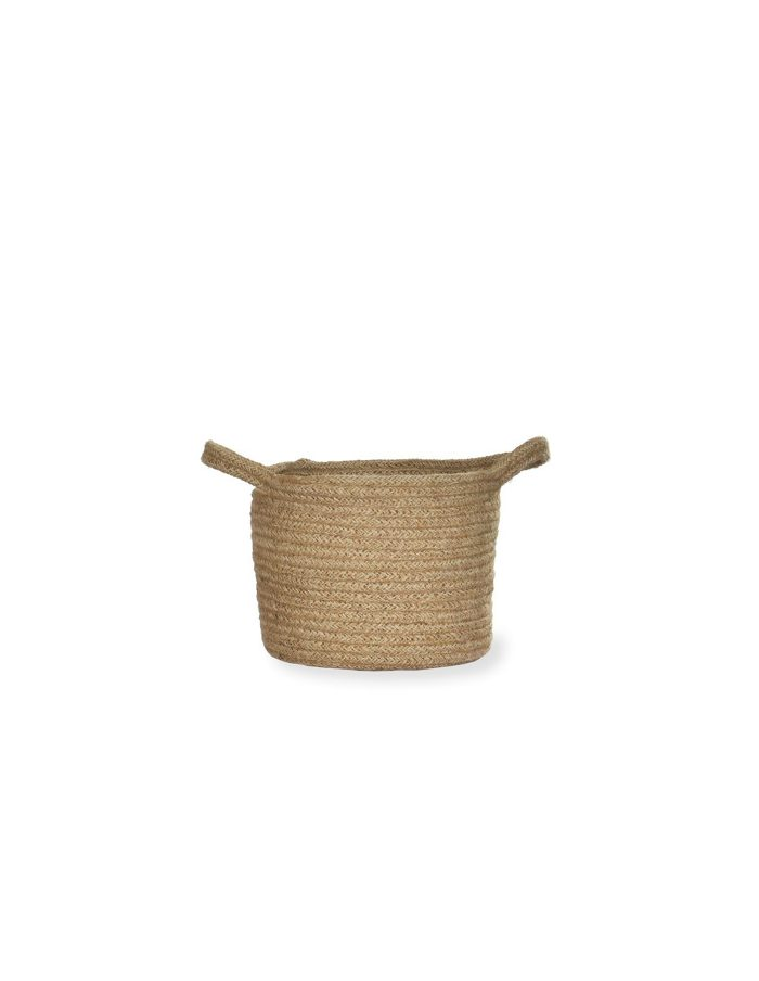 Large Waterproof Jute Pot