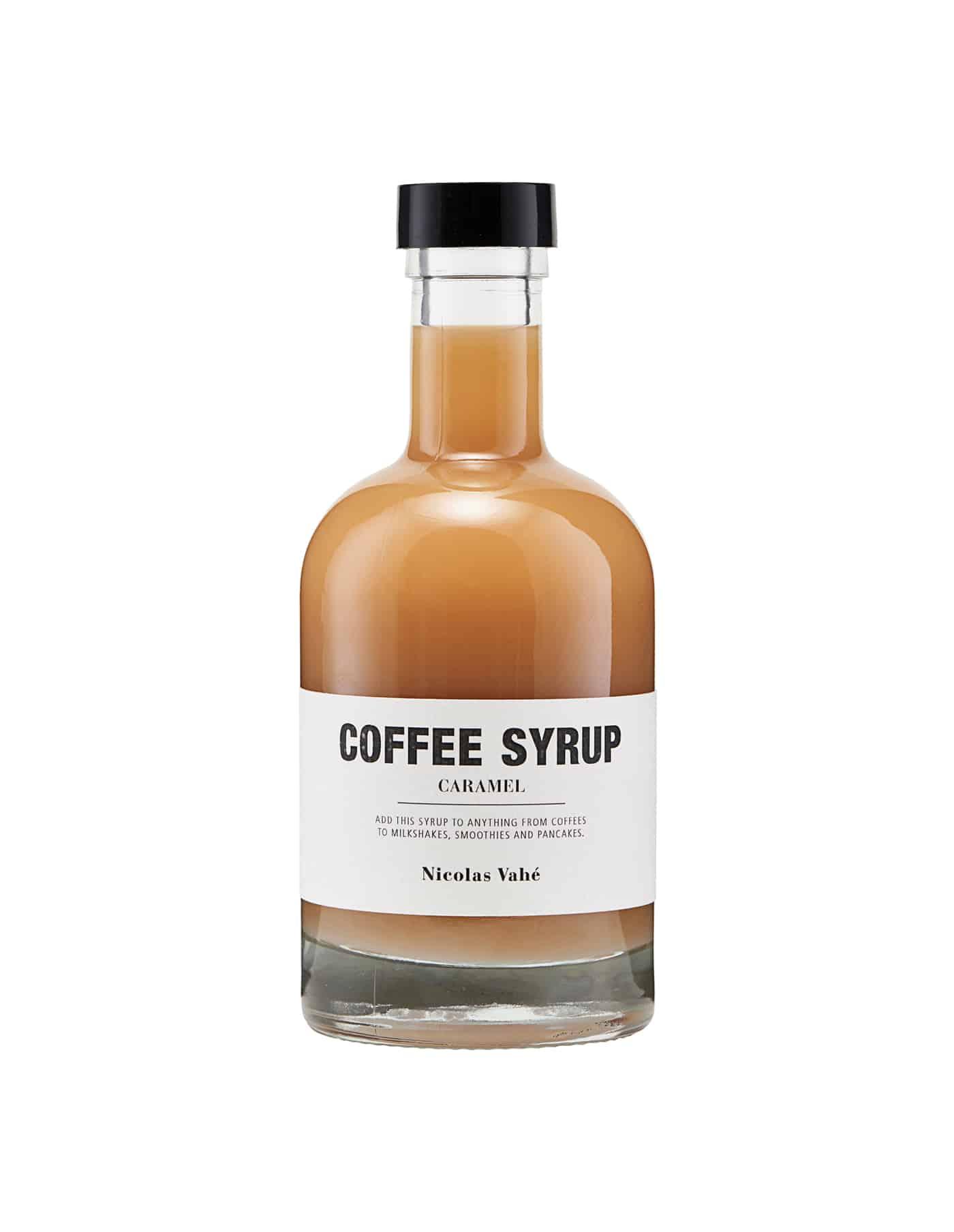 Nicolas Vahé Caramel Coffee Syrup
