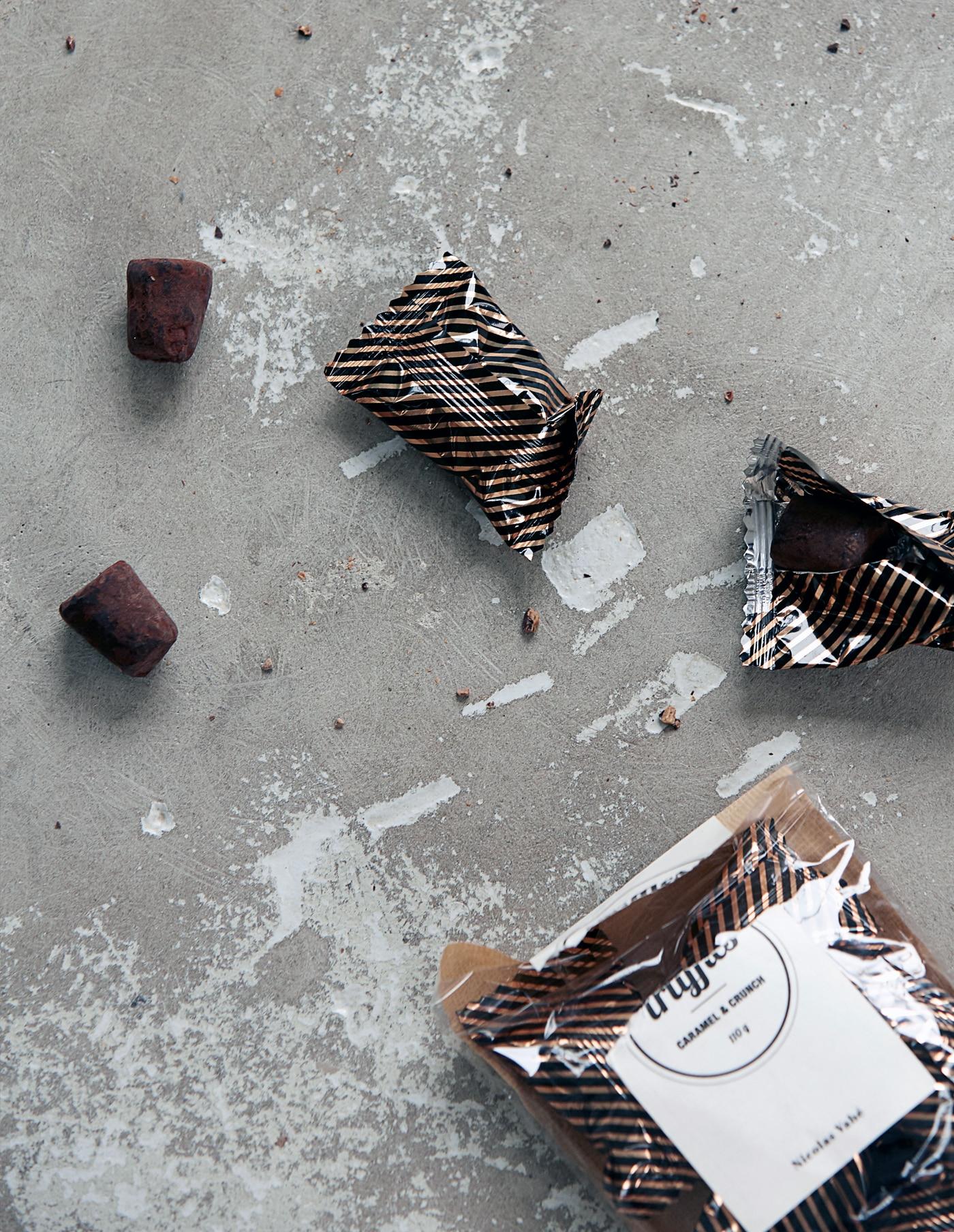 Caramel & Crunch Chocolate Truffles