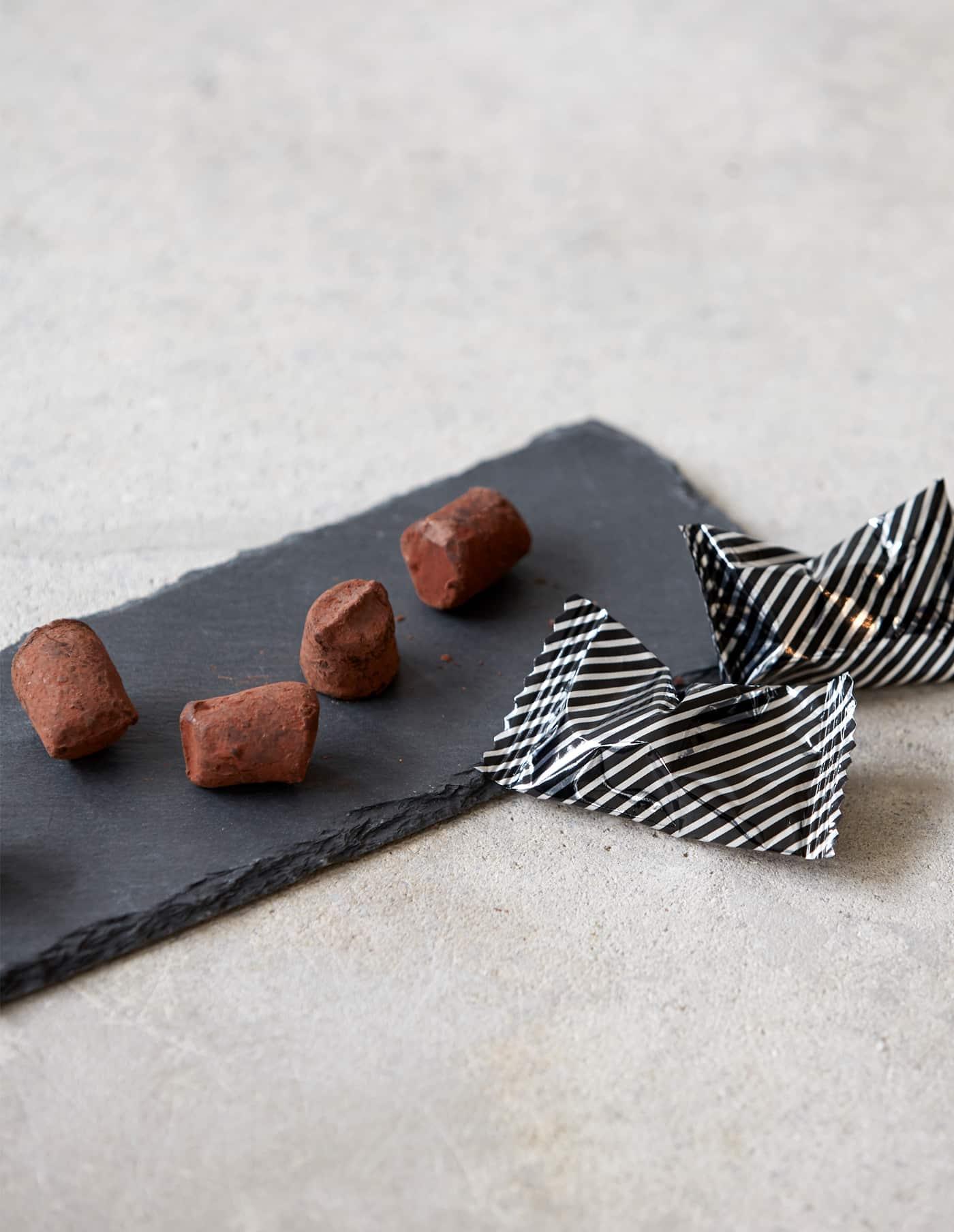 Pistachio & Crunch Chocolate Truffles