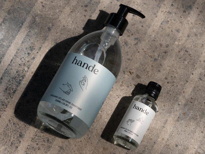 New: Hande Organic Hand Sanitiser