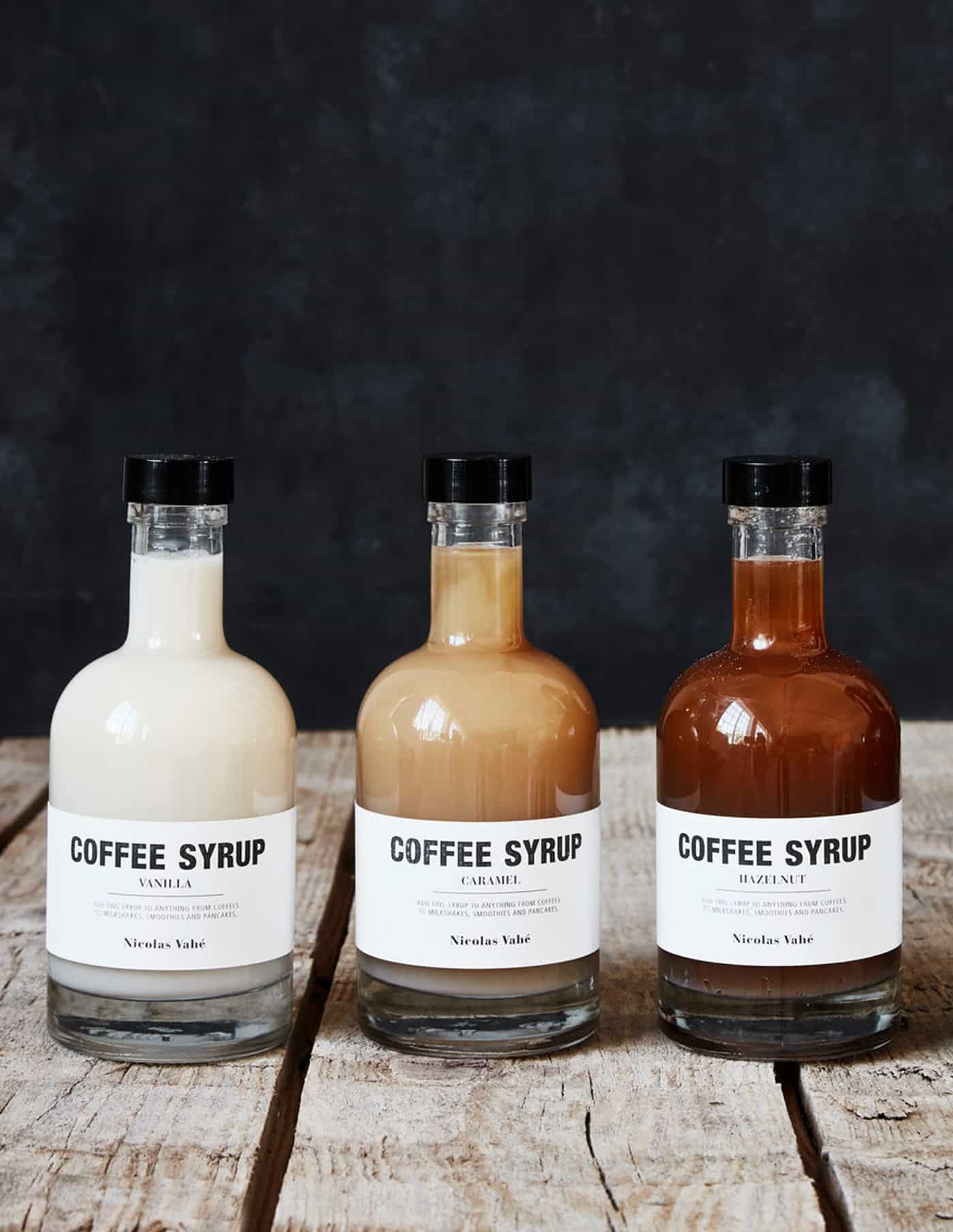 Caramel Coffee Syrup, Nicolas Vahé