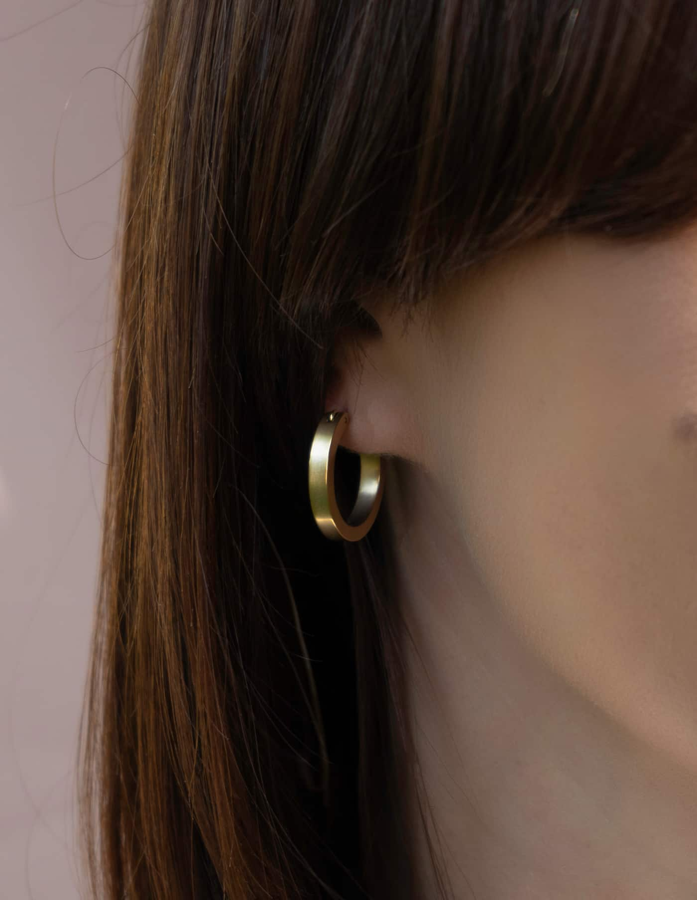 Small Gold Hoop Earrings, Forever Lasting