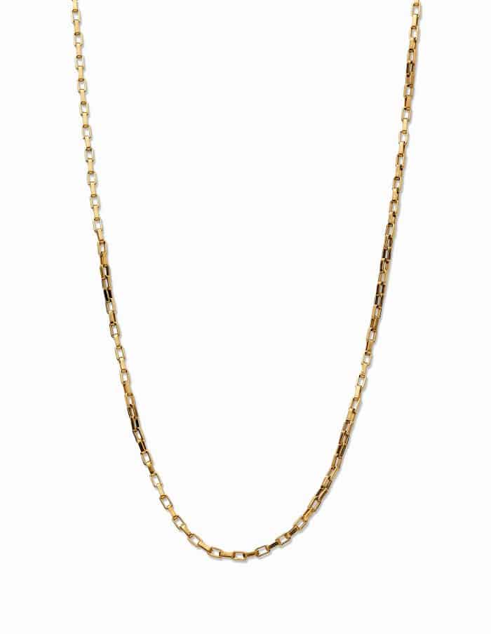 Gold Chain Necklace, Forever Lasting