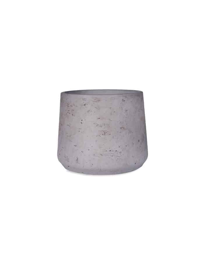 Medium Tapered Plant Pot, Stone