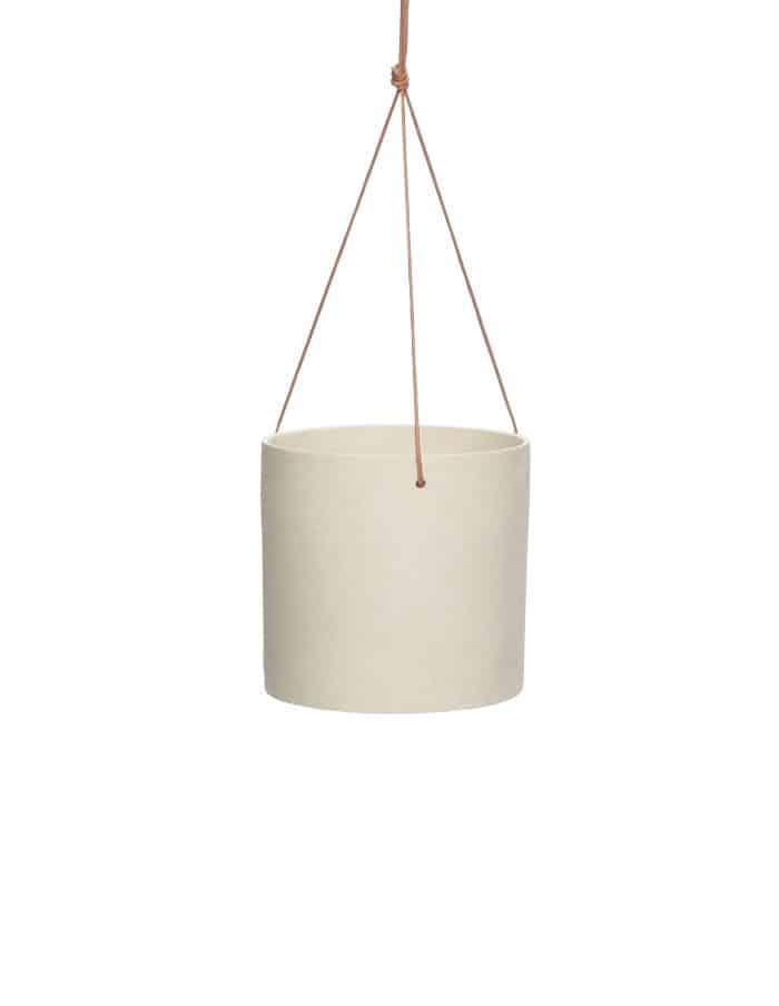 Slim Ceramic Hanging Pot, Hübsch