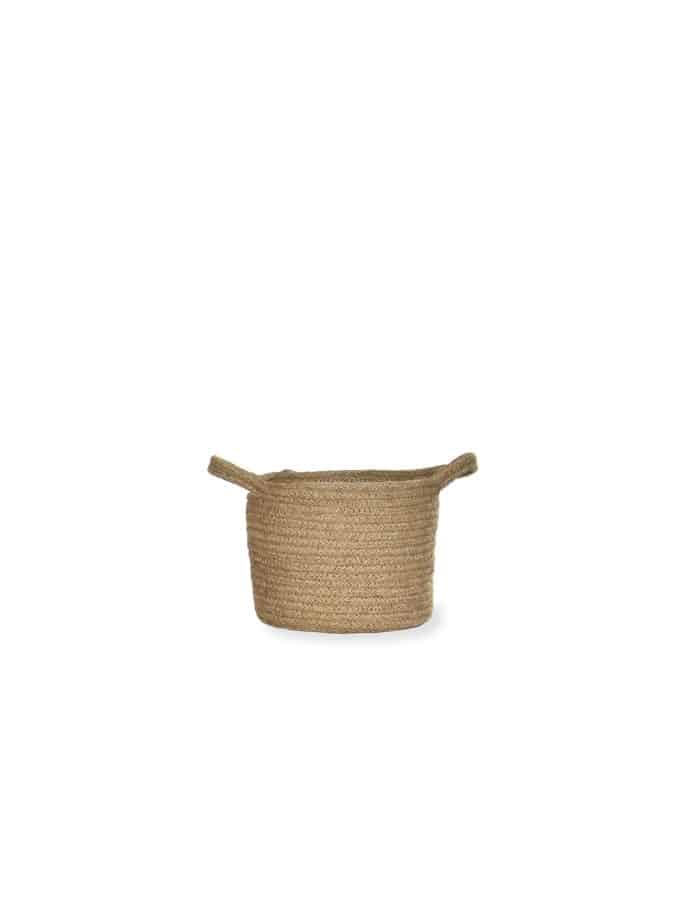 Medium Jute Plant Pot, Waterproof