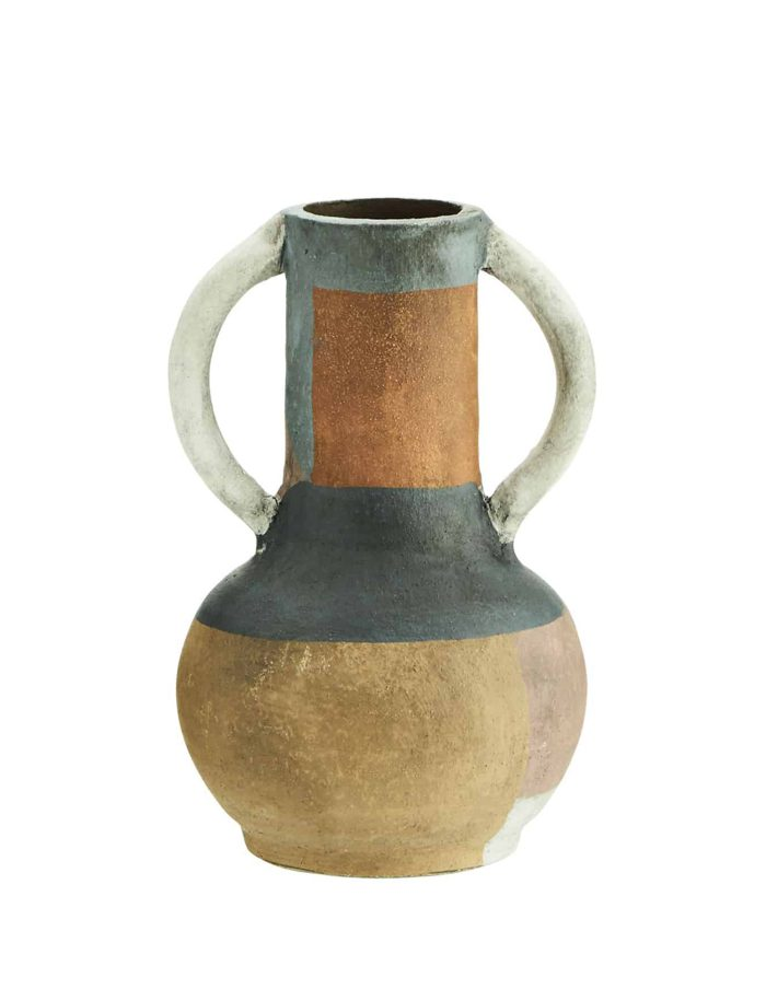 Textured Terracotta Vase, Madam Stoltz