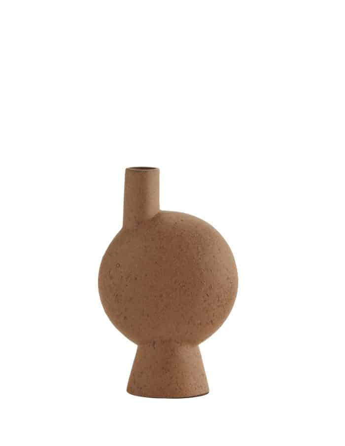 Madam Stoltz Abstract Vase, Stoneware