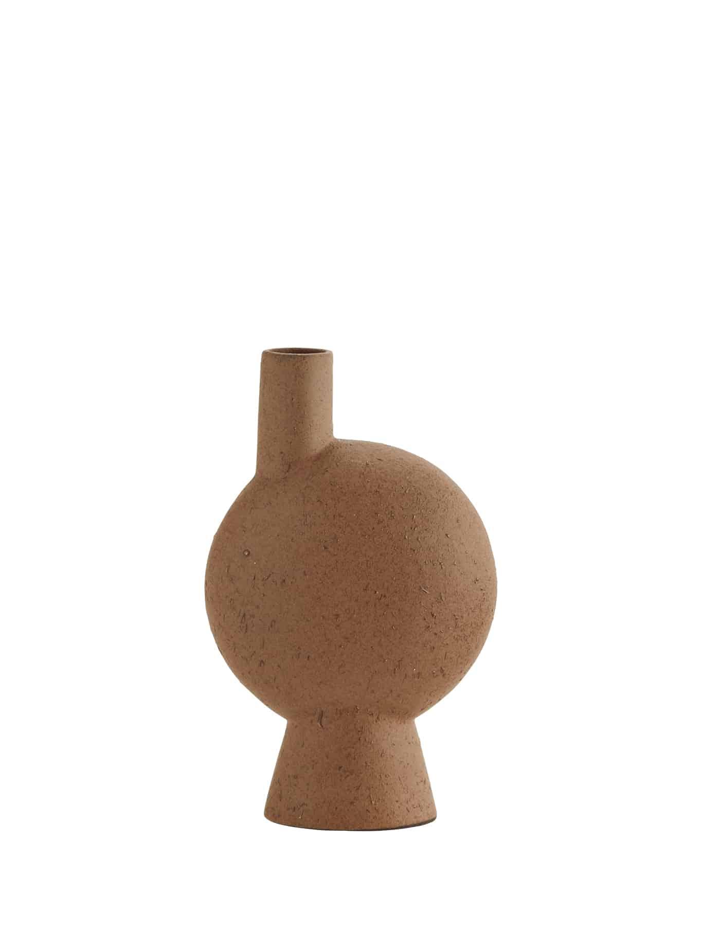 Abstract Terracotta Vase, Madam Stoltz