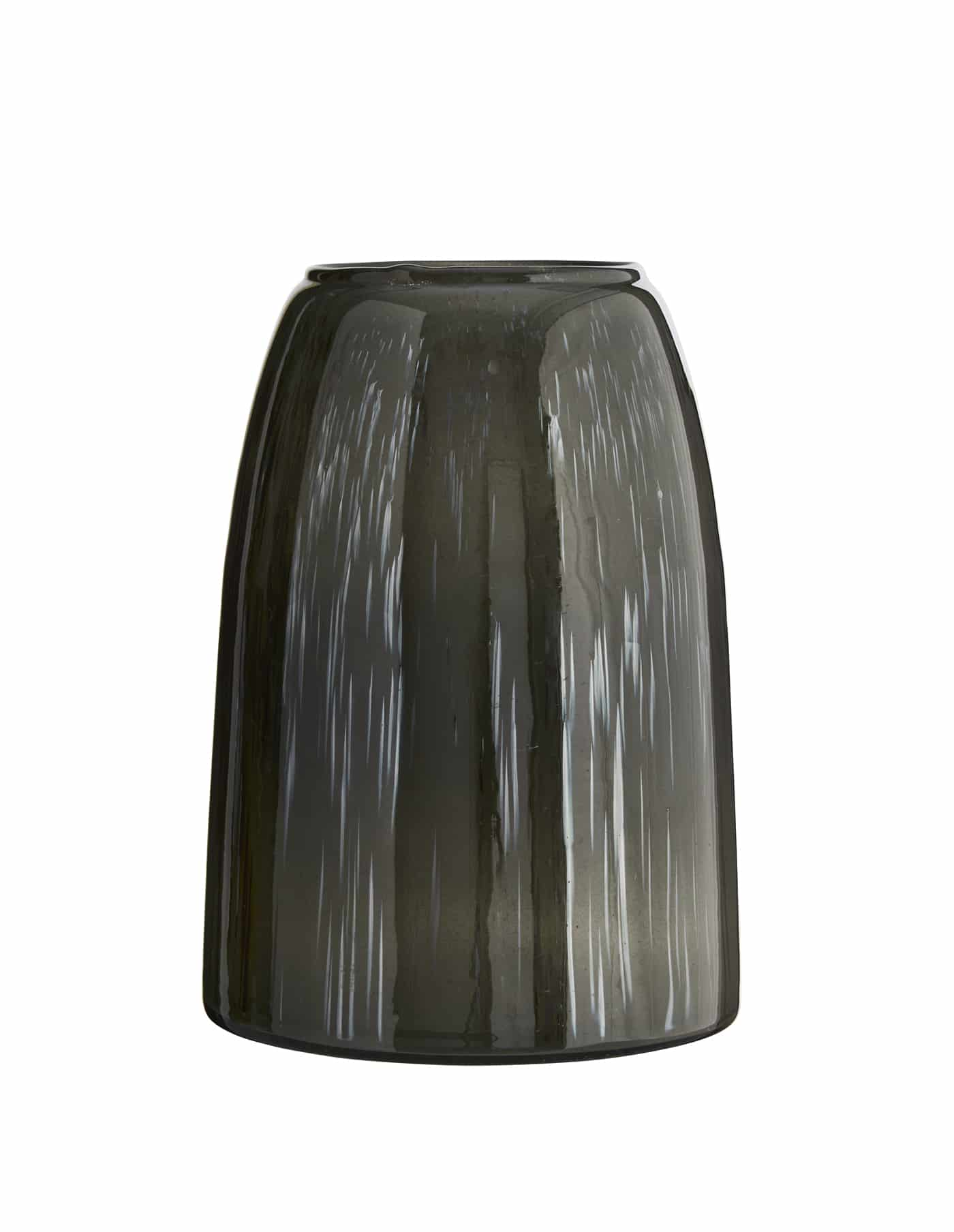 Grey Tonal Glass Vase, Madam Stoltz