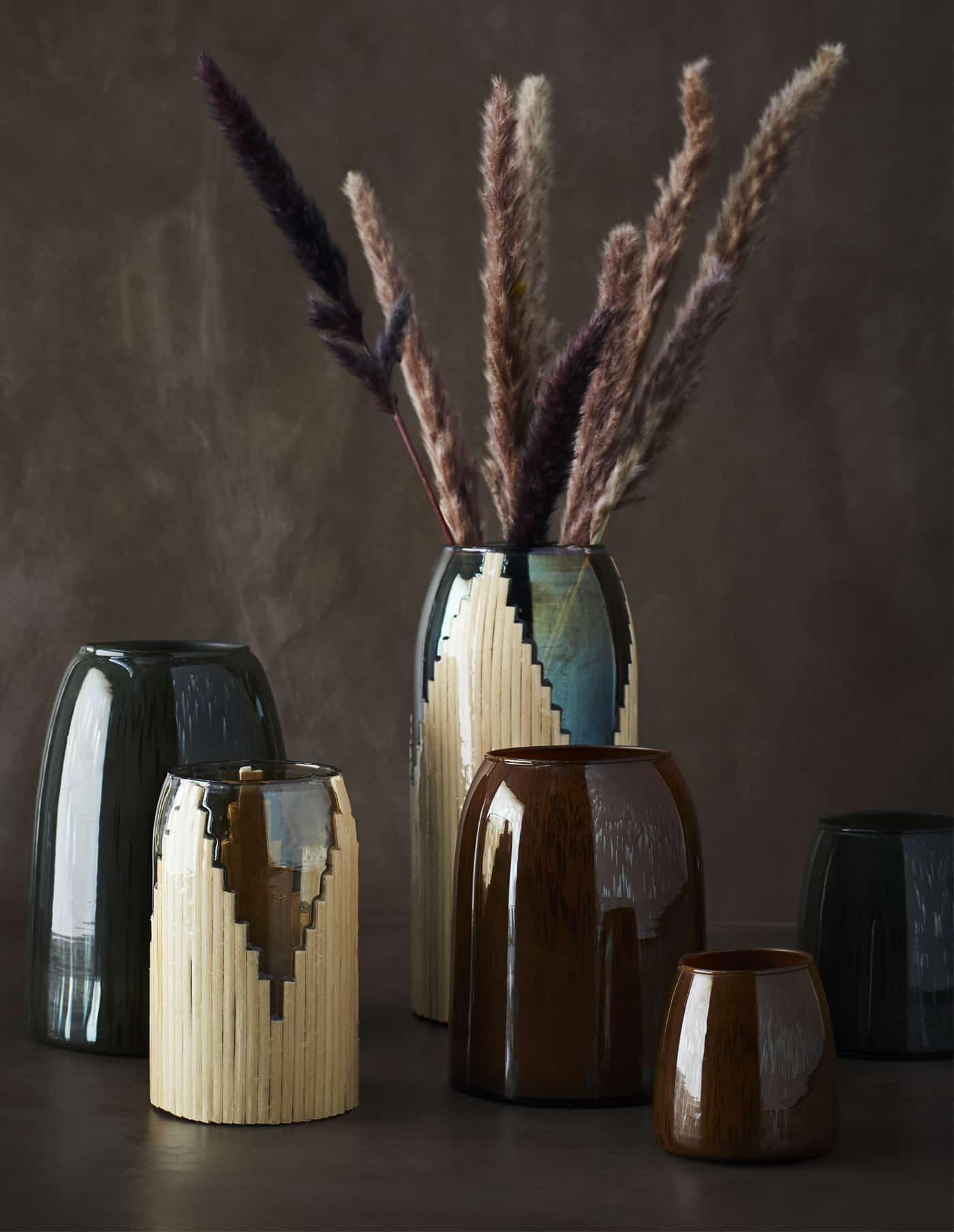 Brown Glass Vase, Madam Stoltz
