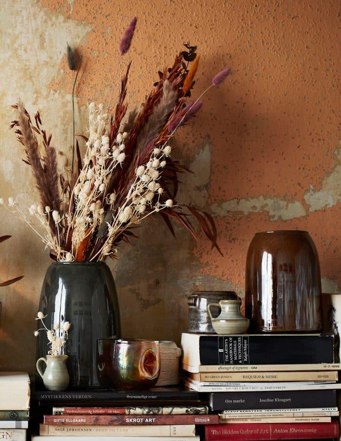 Grey Glass Vase, Madam Stoltz