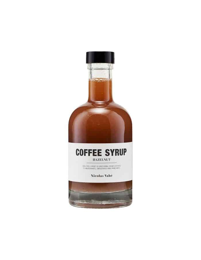Hazelnut Coffee Syrup, Nicolas Vahé