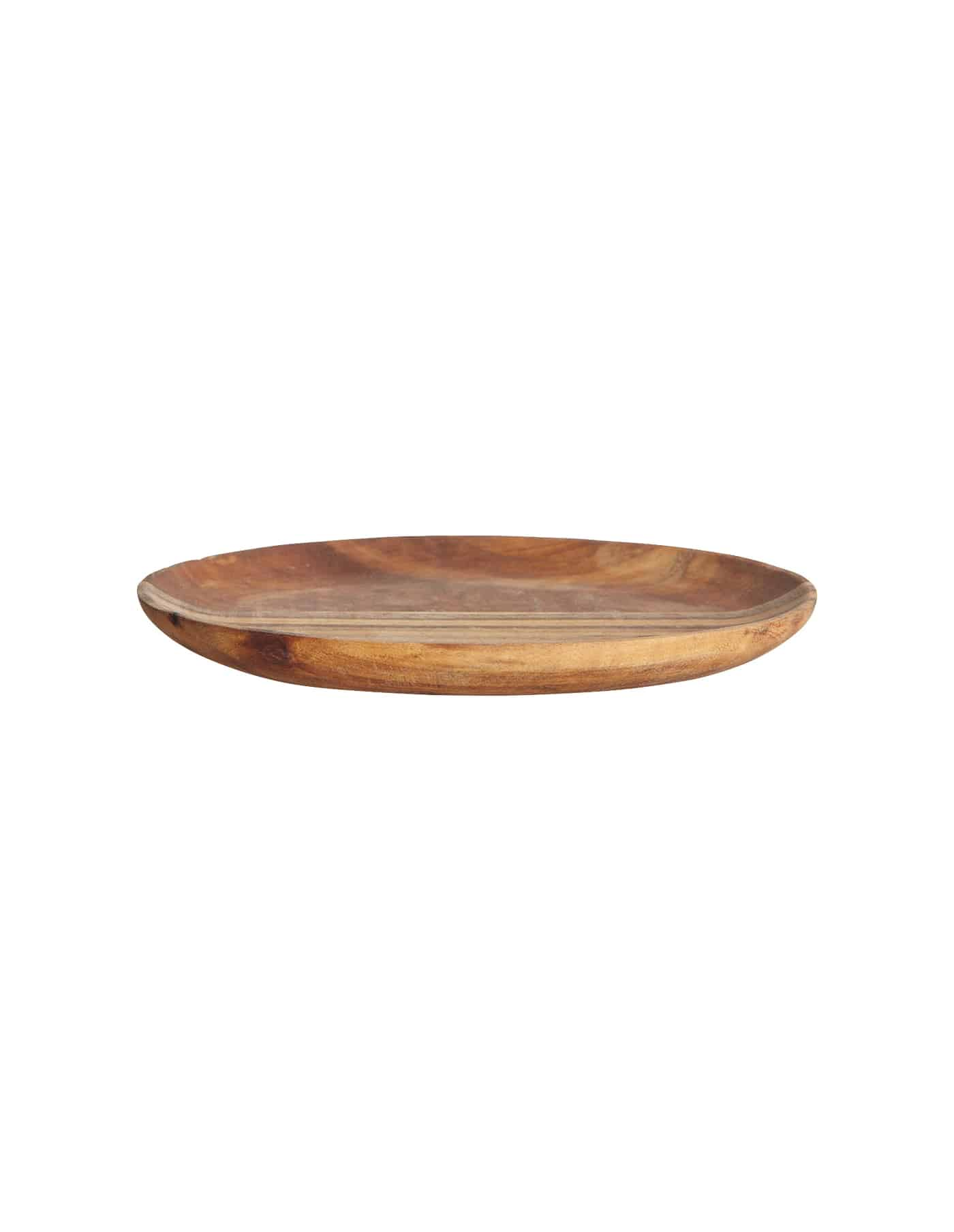 Acacia Wood Serving Plate, House Doctor