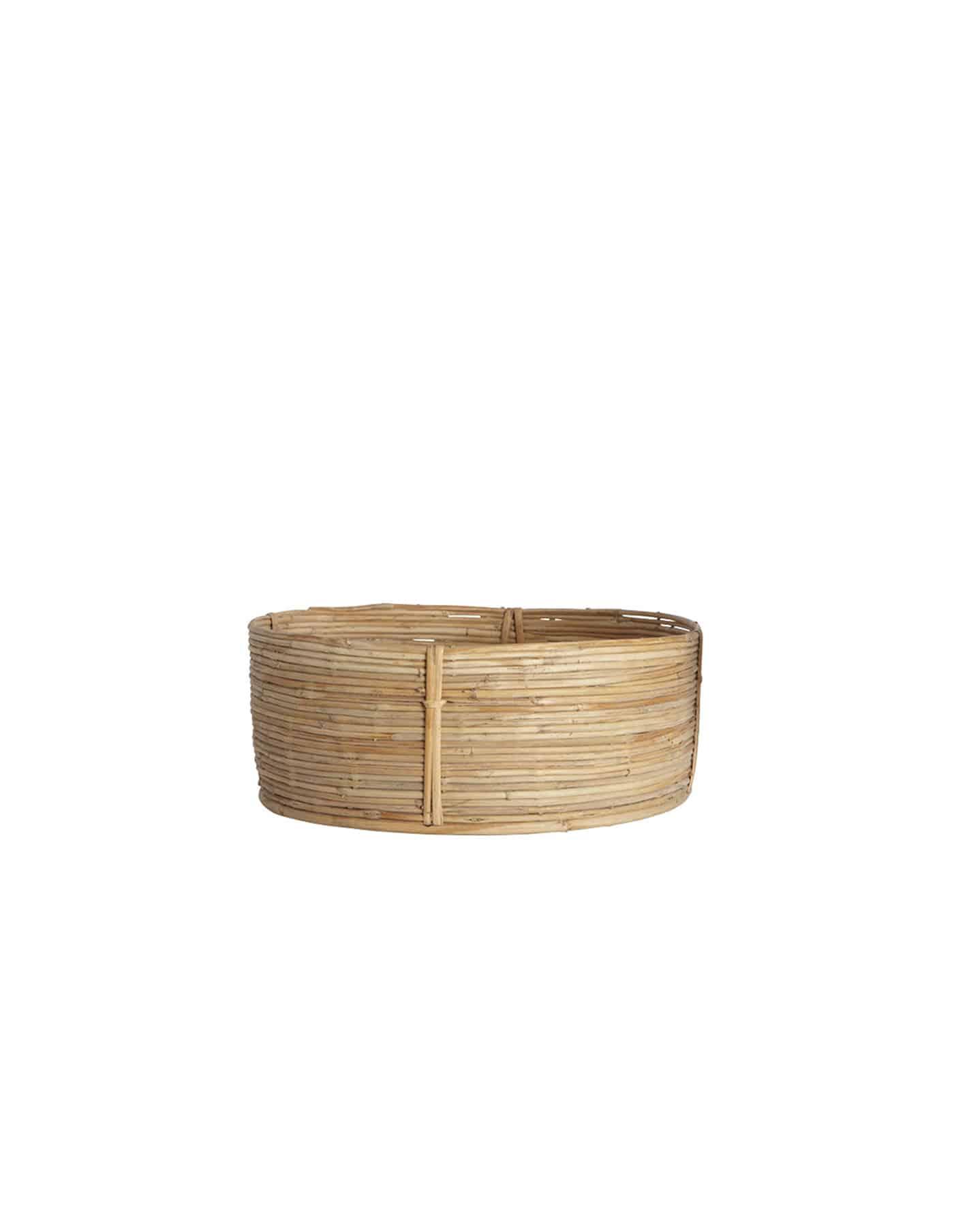 Medium Retro Rattan Basket, House Doctor