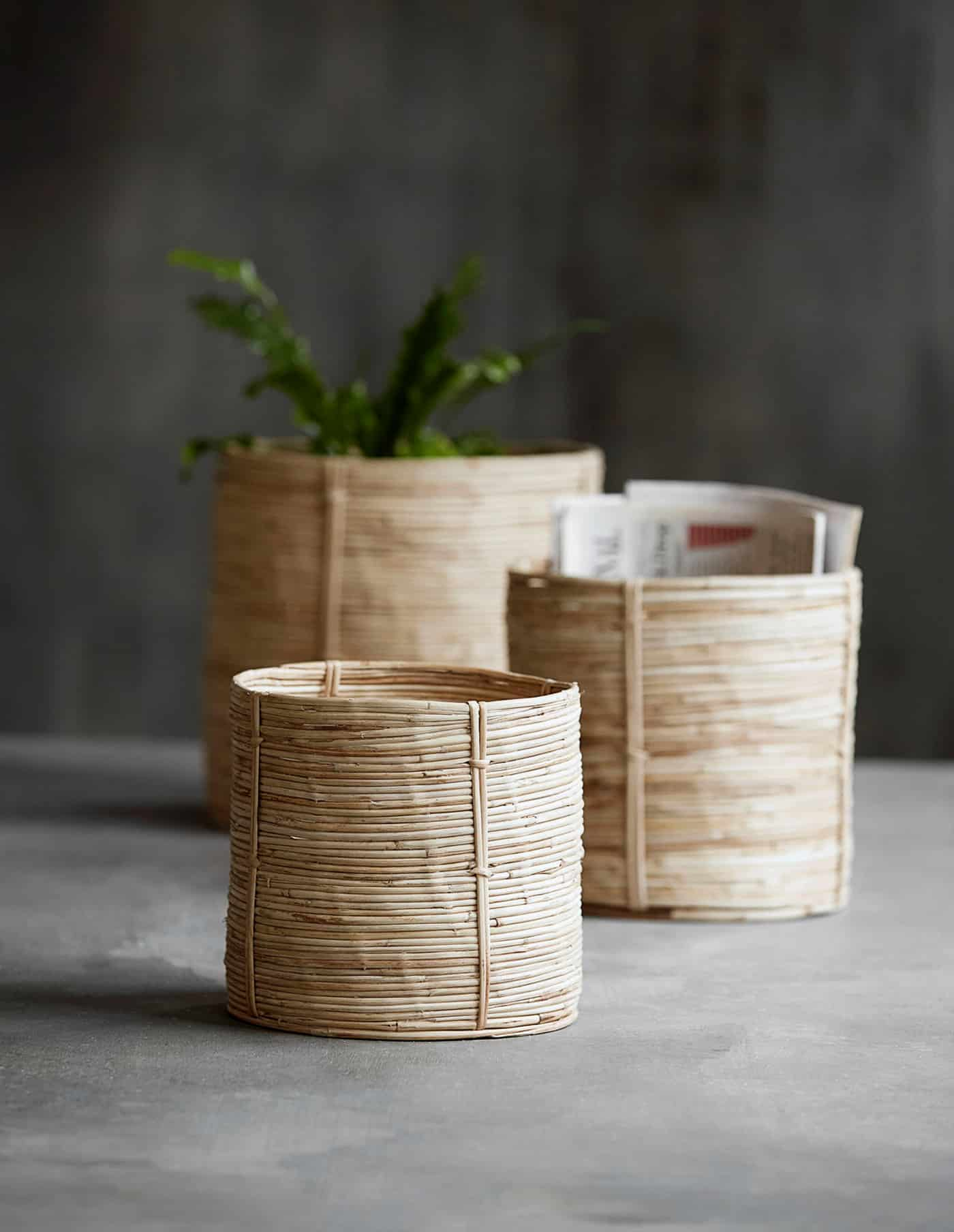 Bamboo Basket, House Doctor