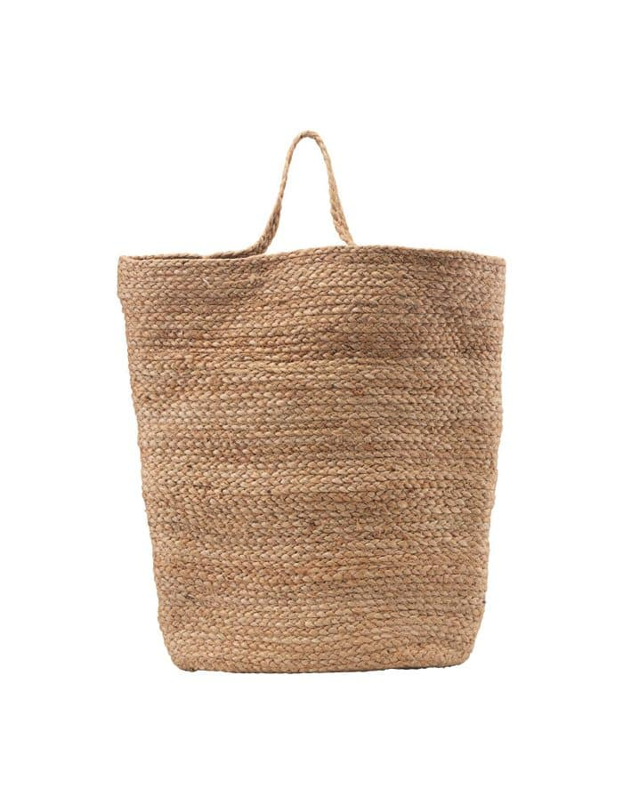 Extra Large Hemp Hanging Basket, House Doctor