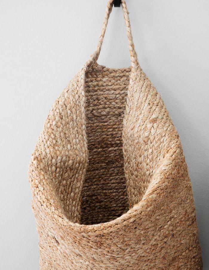 Large Hemp Hanging Basket, House Doctor