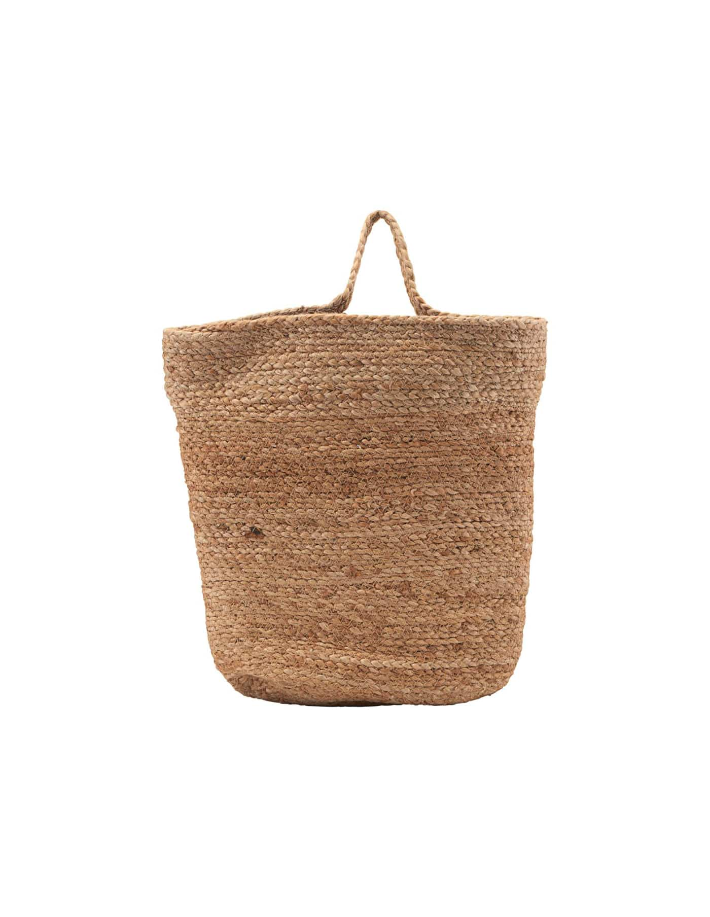 Large Hemp Hanging Basket, House Doctor