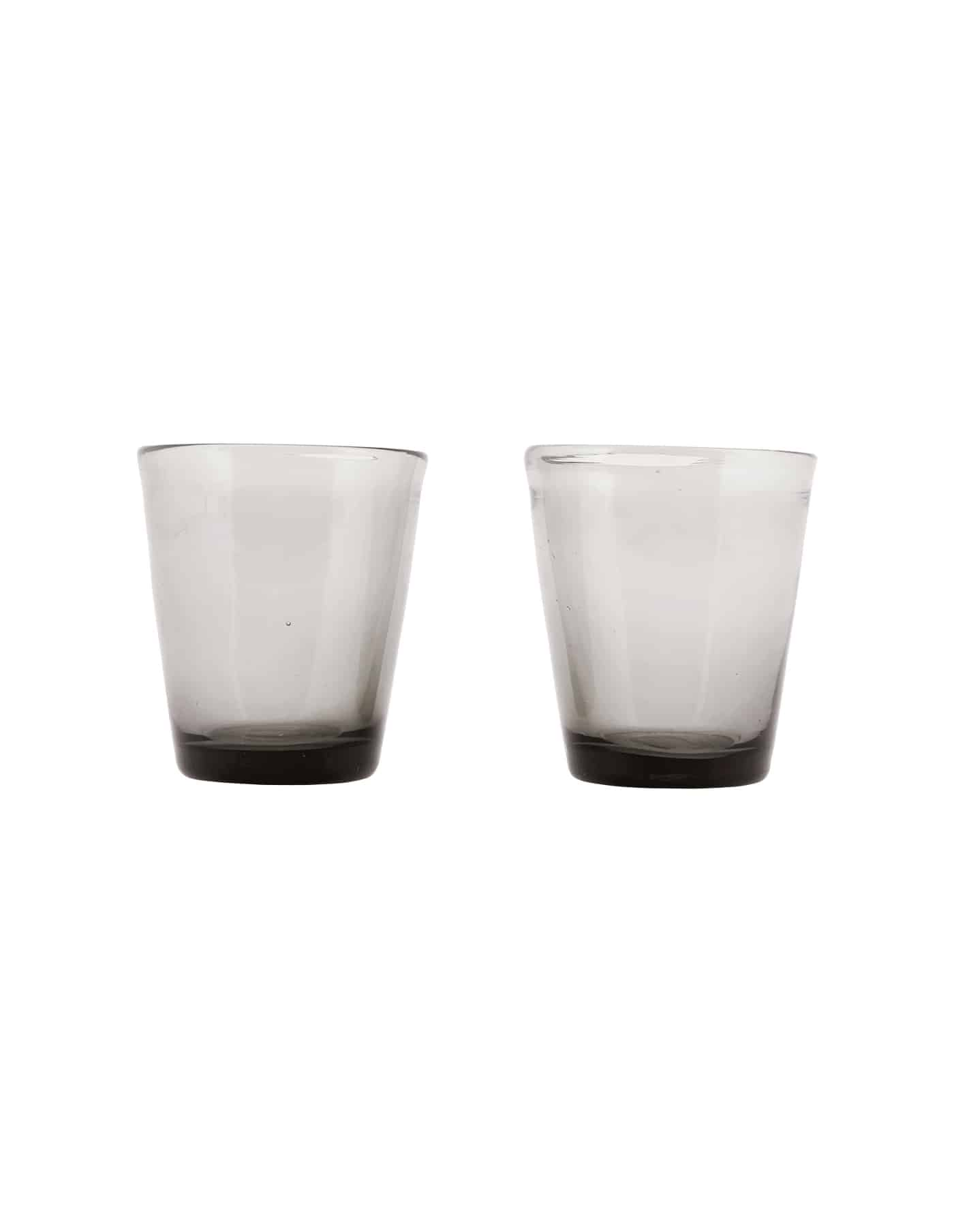 Houston Smoked Water Glasses, House Doctor