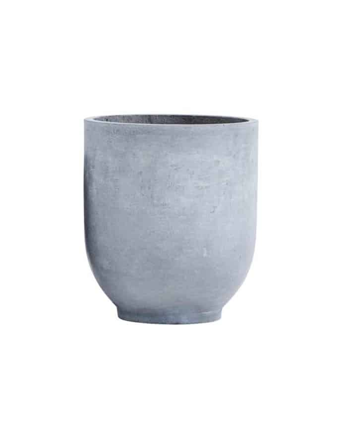 Large Scandi Concrete Planter, House Doctor