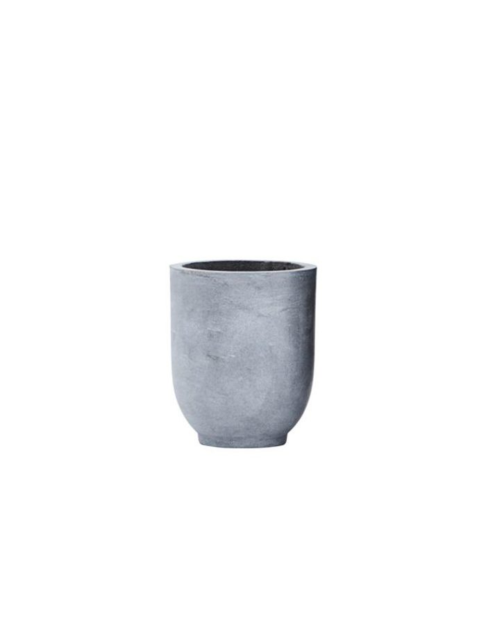 Small Scandi Concrete Planter, House Doctor