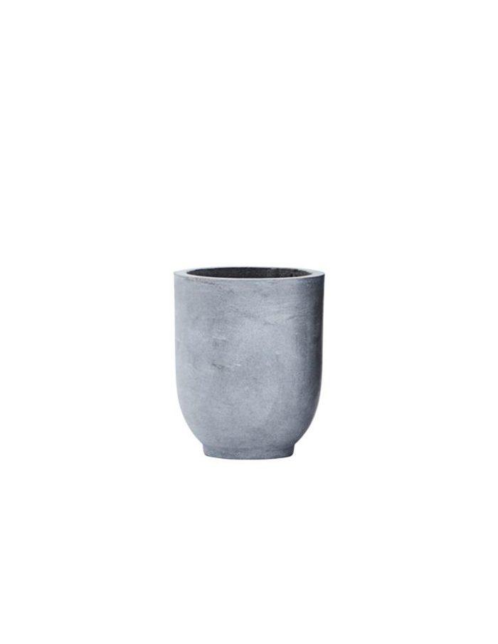 Small Scandi Concrete Planter, House Doctor