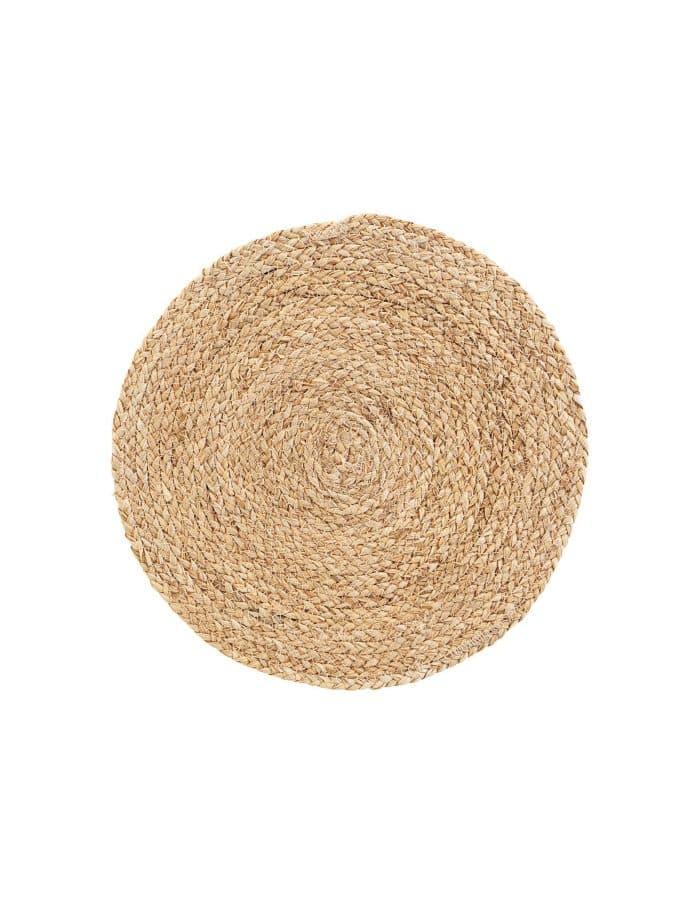 Corn Husk Circle Placemats, House Doctor