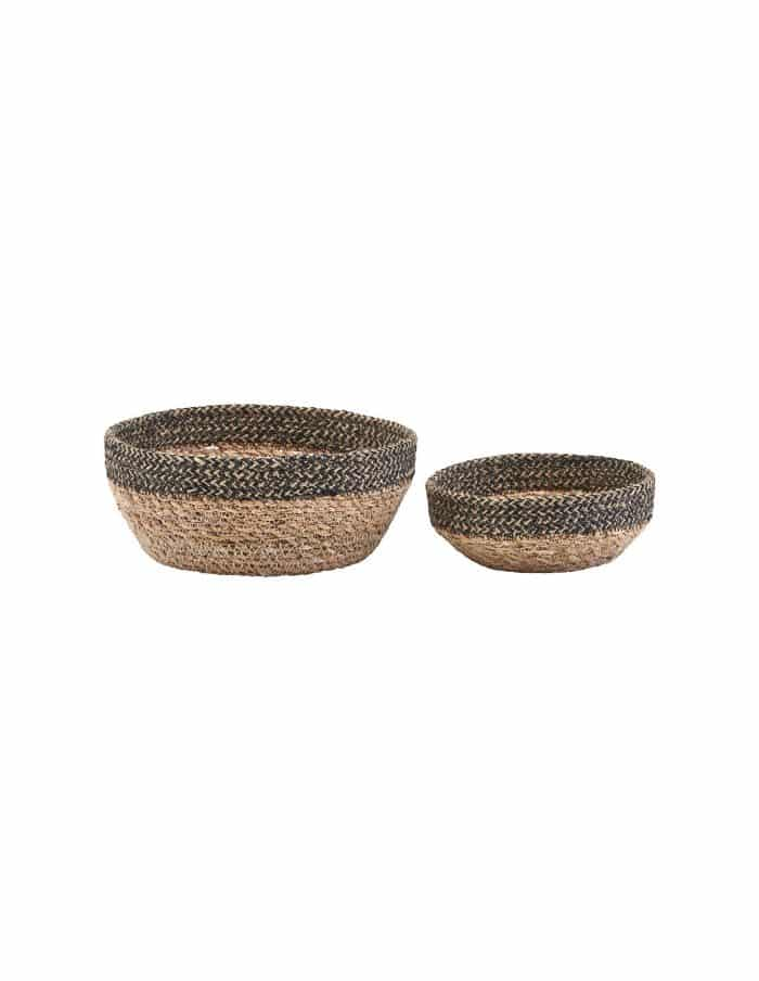 Jute Basket Bowl Set, House Doctor